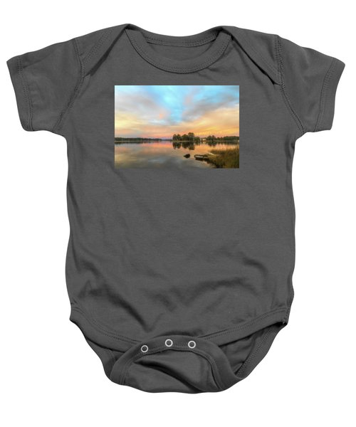 Sunrise, From The West Baby Onesie