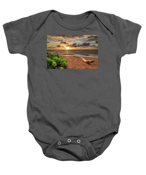 Sunrise In Kapaa Baby Onesie