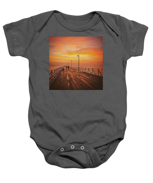 Sunrise Lovers Baby Onesie