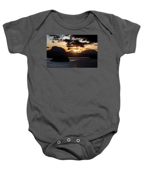 Sunrise Over The Inland Passage Baby Onesie