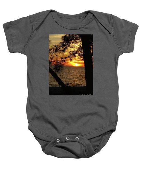 Sunset 1 Baby Onesie