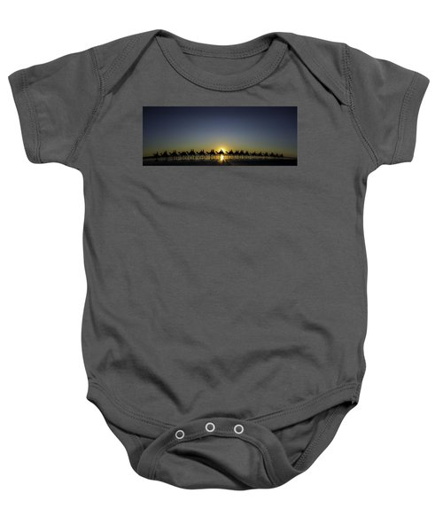 Sunset At Cable Beach Baby Onesie
