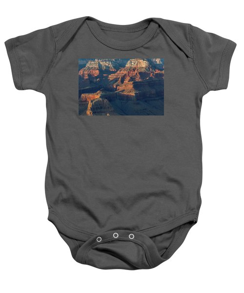 Sunset At The South Rim, Grand Canyon Baby Onesie