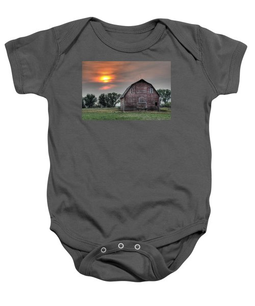 Sunset Barn Baby Onesie