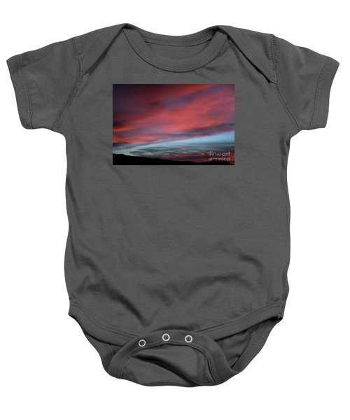 Sunset In Capital Reef  Baby Onesie