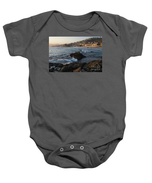 Baby Onesie featuring the photograph Sunset Over Laguna Beach   by Vincent Bonafede