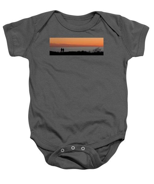 Sunset Stroll Baby Onesie