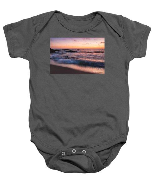 Sunset Surf Baby Onesie