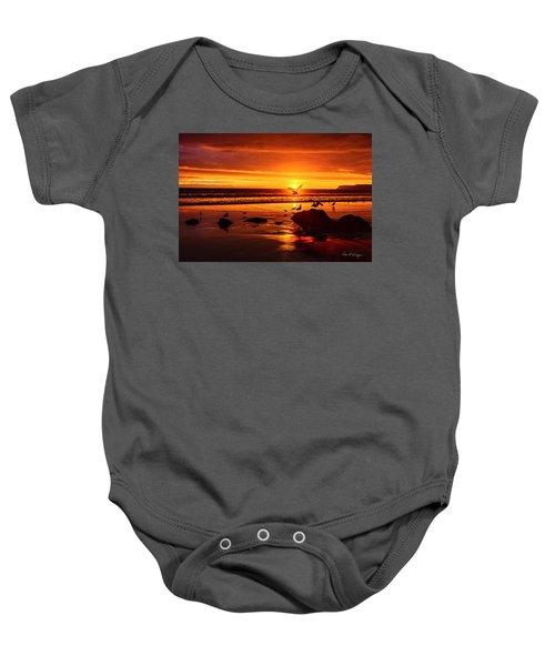 Sunset Surprise Baby Onesie