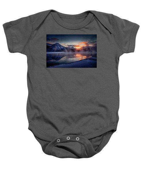 Sunset, Vermilion Lakes Baby Onesie