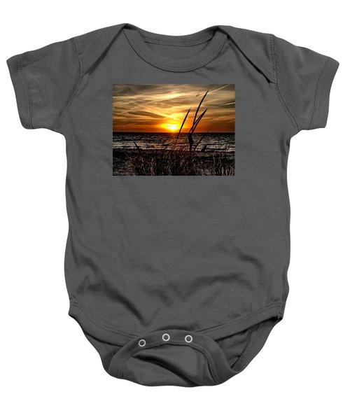 Sunset Walk Baby Onesie