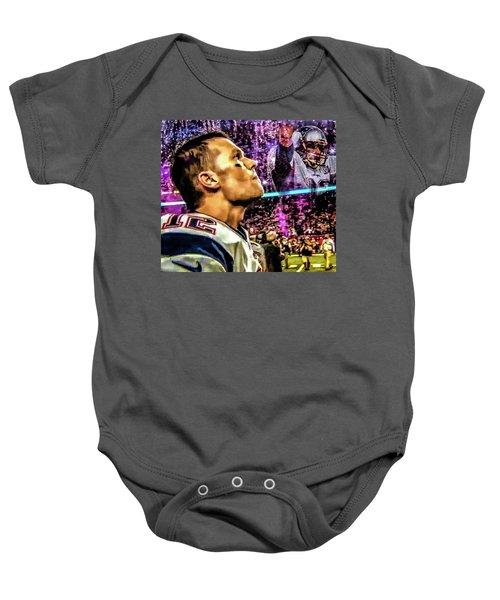 Super Bowl 53 - Tom Brady Baby Onesie