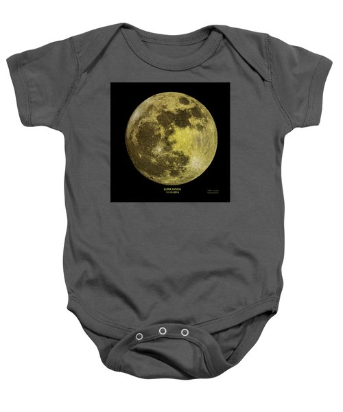 Super Moon Baby Onesie