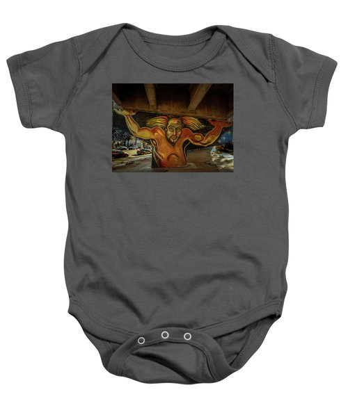 Supporting The Offramp Baby Onesie
