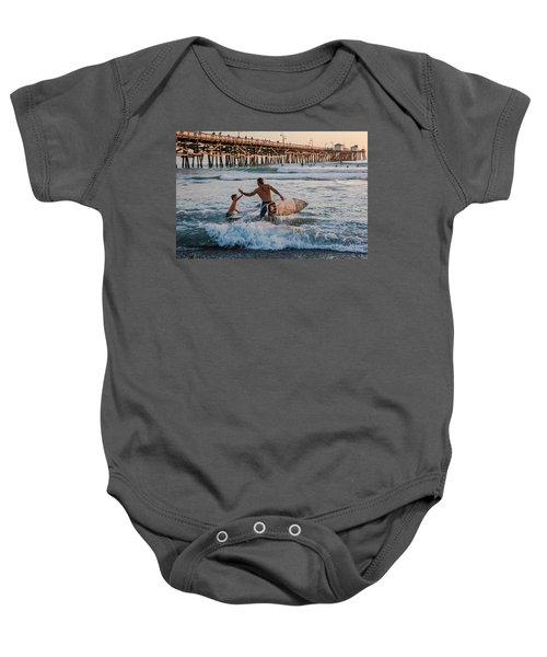 Surfboard Inspirational Baby Onesie