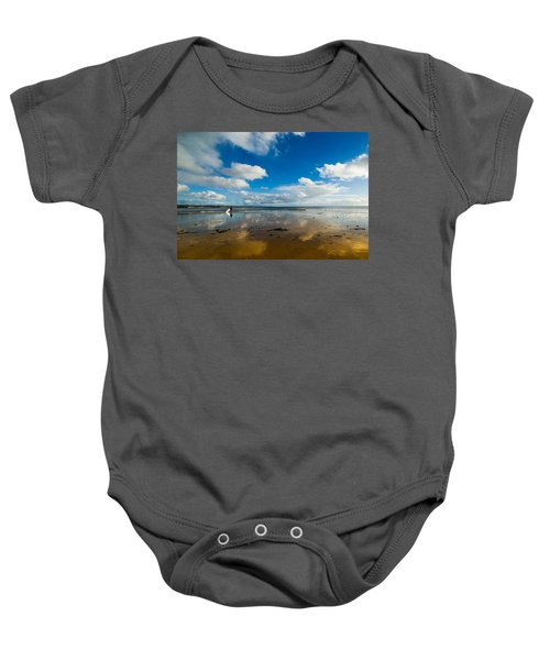 Surfing The Sky Baby Onesie
