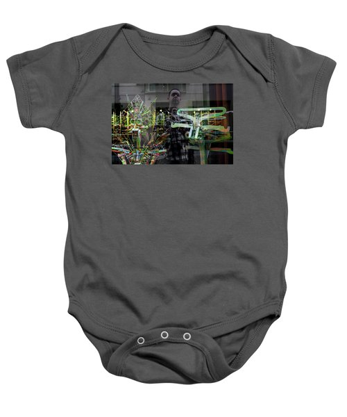 Surreal Introspection Baby Onesie