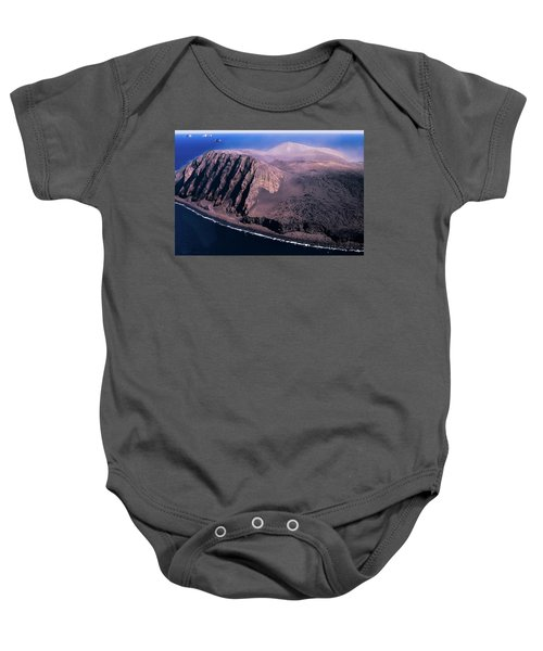 Surtsey In Iceland Baby Onesie