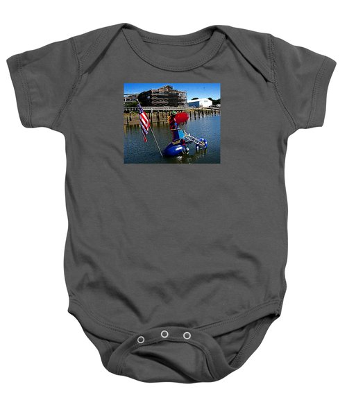 Susie Is A Lady -  Harbor Guardian Baby Onesie
