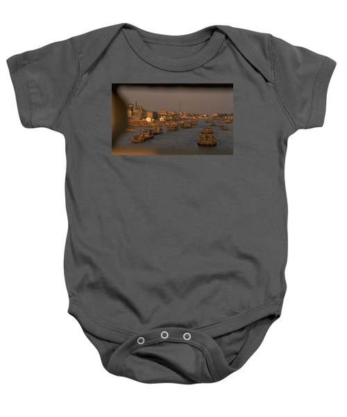 Suzhou Grand Canal Baby Onesie