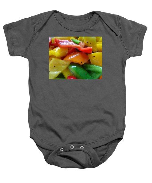 Sweet Peppers Baby Onesie