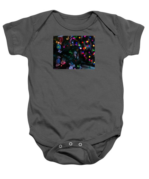 Baby Onesie featuring the photograph Sweet Sparkly by Lora Lee Chapman