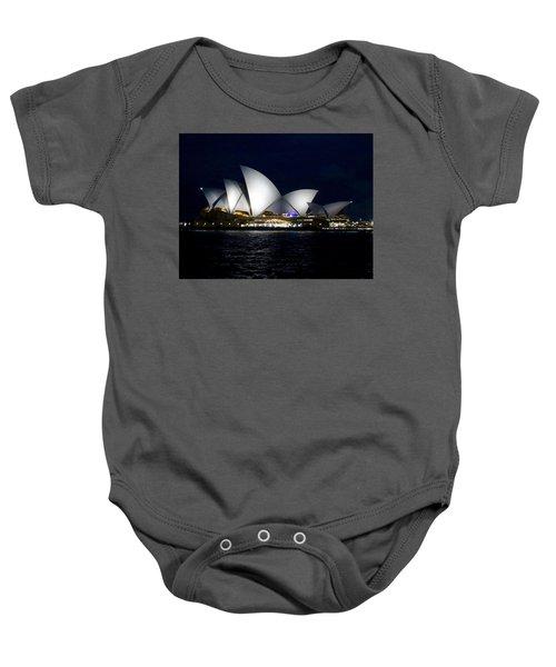 Sydney Opera House Baby Onesie