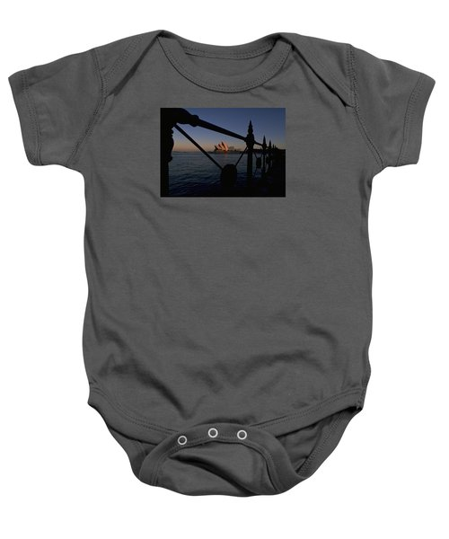 Baby Onesie featuring the photograph Sydney Opera House by Travel Pics