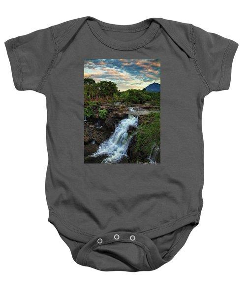 Tad Lo Waterfall, Bolaven Plateau, Champasak Province, Laos Baby Onesie