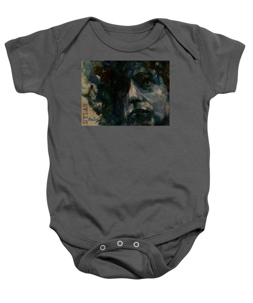 Tagged Up In Blue- Bob Dylan  Baby Onesie