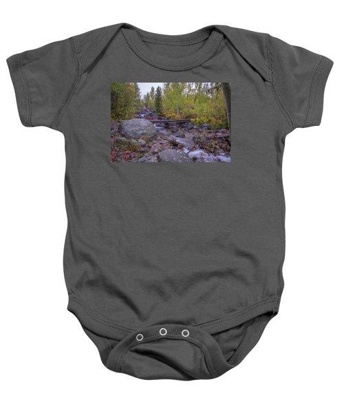 Taggert Creek Waterfall Baby Onesie