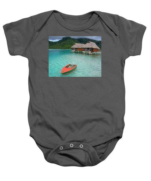 Tahitian Boat Baby Onesie
