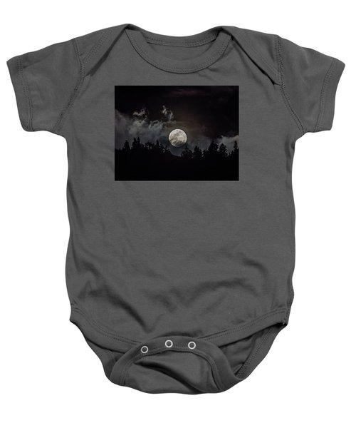 Tahoe Moon Cloud Baby Onesie