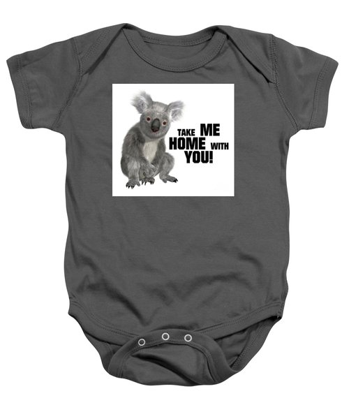 Take Me Home With You Baby Onesie