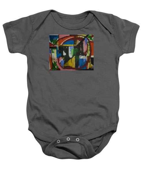 Take Me There Baby Onesie by Jose Rojas