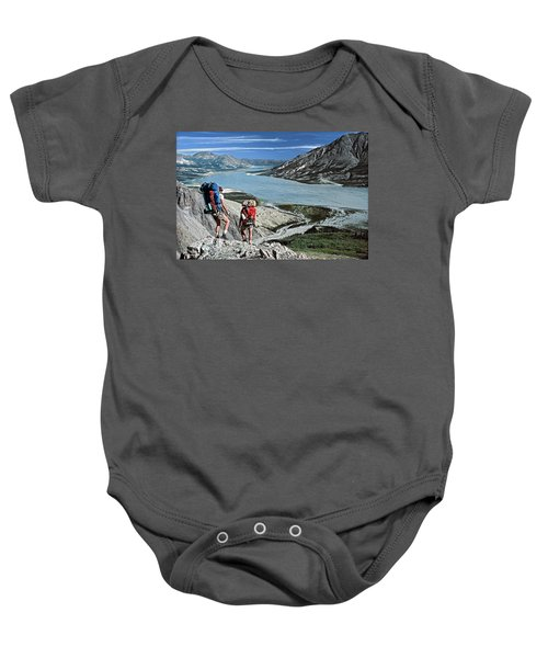 Take This View And Love It Baby Onesie