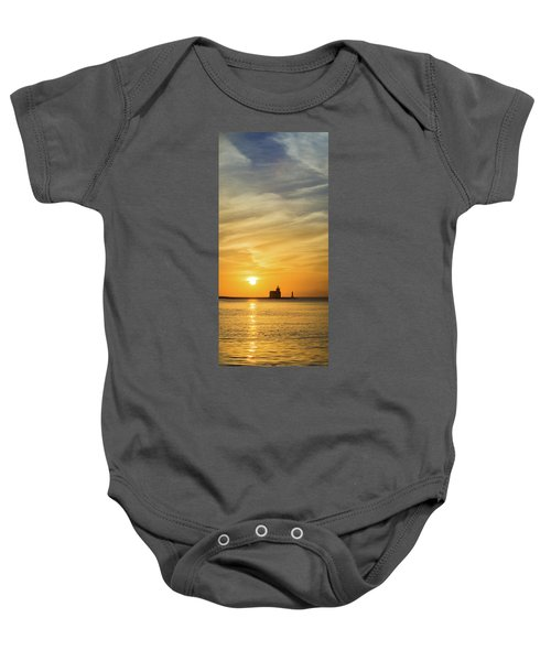 Baby Onesie featuring the photograph Tall Drink Of Comfort by Bill Pevlor