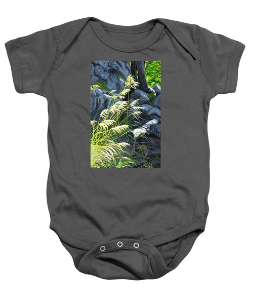 Tall Grass In A Breeze Baby Onesie