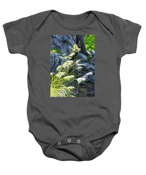 Tall Grass In A Breeze Baby Onesie