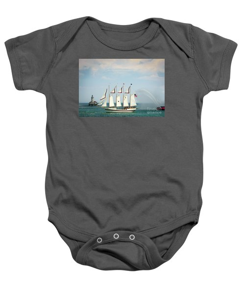 Tall Ship Baby Onesie