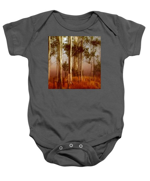 Tall Timbers Baby Onesie