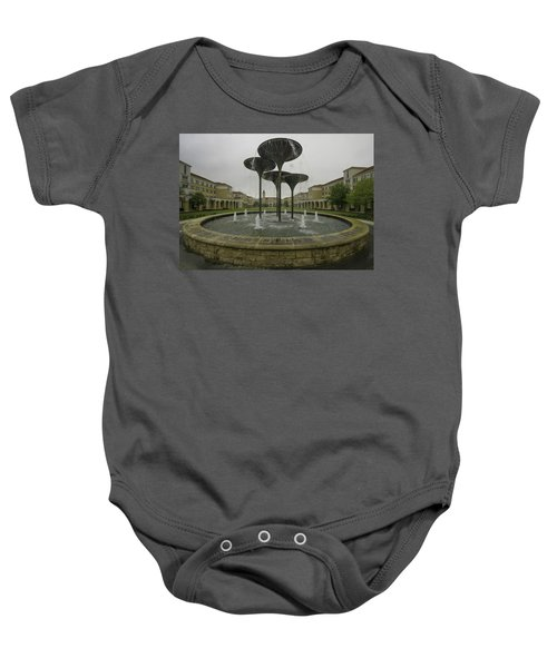Tcu Campus Commons Baby Onesie