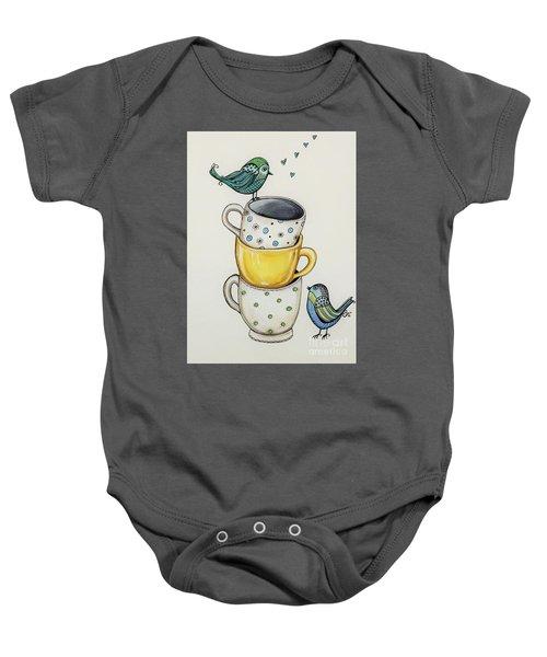 Tea Time Friends Baby Onesie