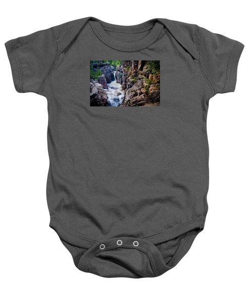 Temperance River Gorge Baby Onesie