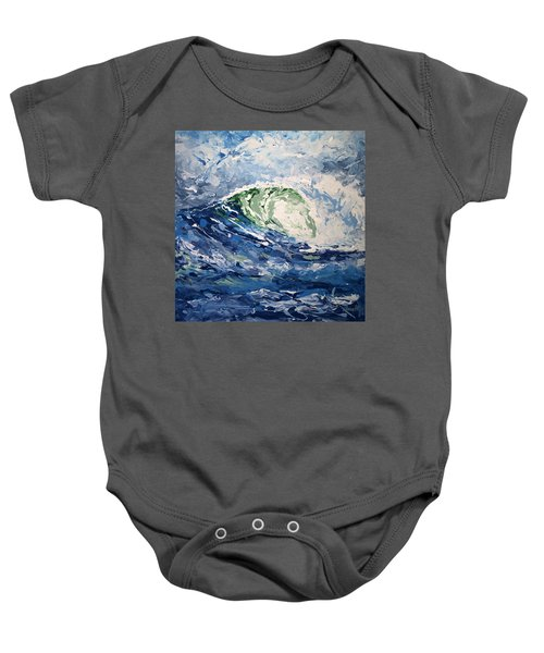 Tempest Abstract Baby Onesie