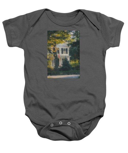 Ten Lincoln Street, Easton, Ma Baby Onesie