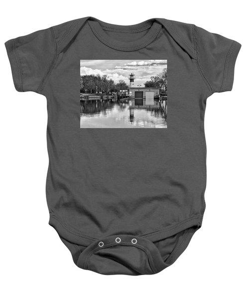 Tenney Lock 3 - Madison - Wisconsin Baby Onesie