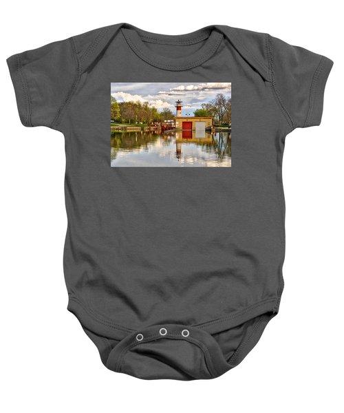 Tenney Lock - Madison - Wisconsin Baby Onesie