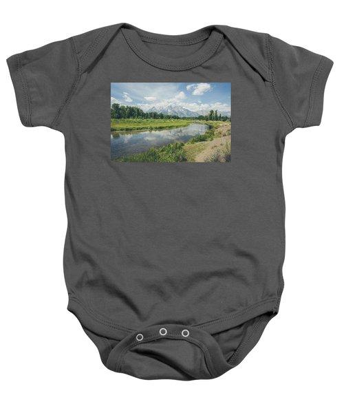 Teton Reflections Baby Onesie