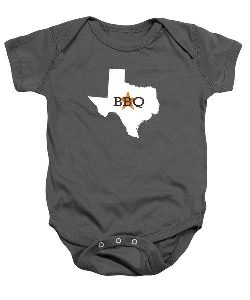 Texas Bbq Baby Onesie by Nancy Ingersoll